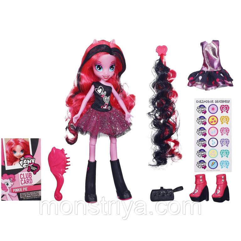 """My Little Pony Equestria Girls Шарнирная кукла Пинки Пай с дополнительным нарядом, из эксклюзивной серии """"Бути"""
