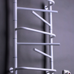 """Электрический полотенцесушитель """"Элна-7"""" поворотный белый с терморегулятором 790*435*130"""