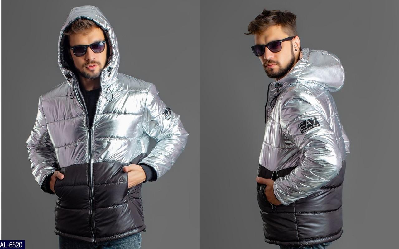 "Мужская куртка батальная 54-56, 58-60 ea7armani, сезон зима, ""original silver foil"" супер ткань,  синтепон 250"