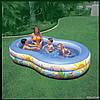 """Детский надувной бассейн """"Райская Лагуна"""" Intex 56490 (262х160х46 см.)"""