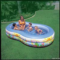 """Детский надувной бассейн """"Райская Лагуна"""" Intex 56490 (262х160х46 см.), фото 1"""