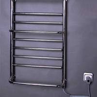 """Электрический полотенцесушитель """"Элна-9"""" поворотный нержавейка с терморегулятором 970*535*130"""