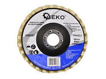 Диск лепестковый фетровый 125 мм GEKO G00387