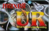 Аудиокассеты Maxell UR90