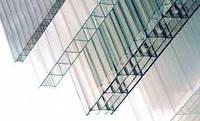 Лист прозрачного сотового поликарбоната (Polygal), 4мм (12.6 м.кв.).