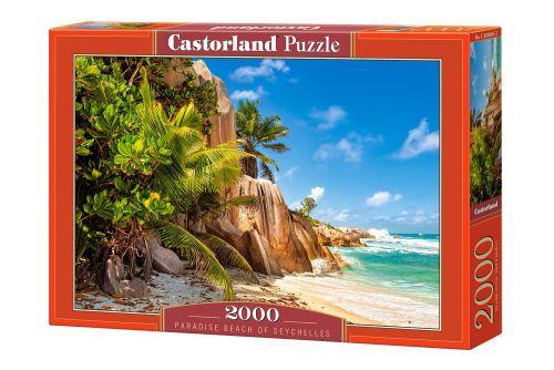 "Пазлы Castorland ""Райский пляж Сейшелы Paradise Beach of Seychelles"" 2000 элементов"
