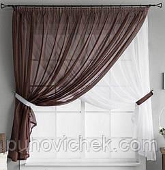 Красивые шторы и занавески для кухни