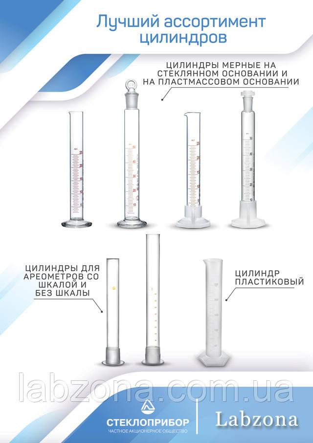цилиндр стеклянный мерный