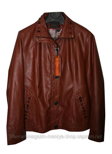 Женская демисезонная куртка батал