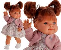 Кукла девочка Farita 38 см рыженькая с хвостиками Antonio Juan 2266, фото 1