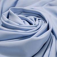 Костюмная ткань креп Барби (Небесно-голубой)