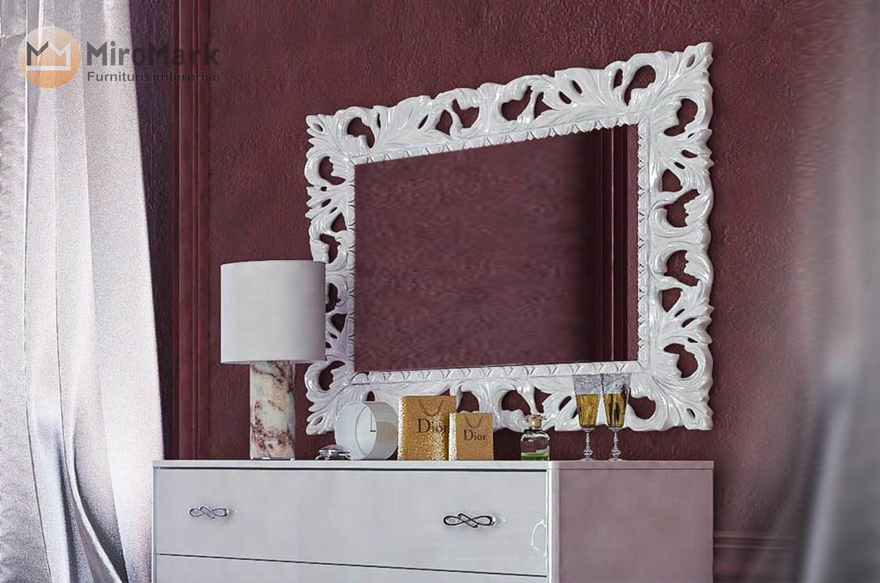 Зеркало Пиония 1200x1000 Элит Декор Миро-Марк