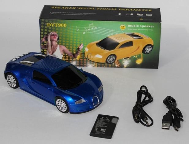 Колонка машина MP3-FM-USB DYT900