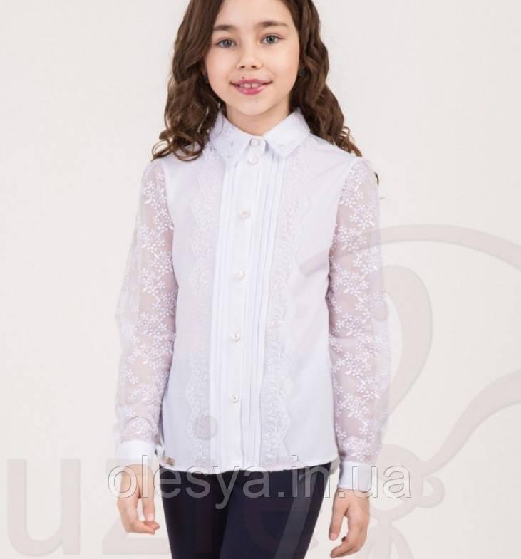 Изысканная блуза Глориана для стильных девочек Размер 140