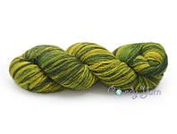 Kauni Artistic  8/1, Зелено-желтый/Green Yellow