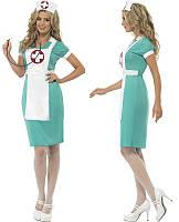 """Игровой костюм """"Медсестра"""". Костюм медсестры игровой, размер единый Л."""