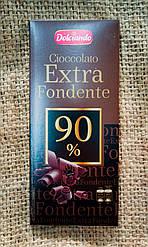 Dolciando cioccolato extra fondente 90% cacao 100 gramm