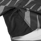 Шорты Venum Sharp Silver Arrow Fightshorts - Black/Silver, фото 7