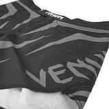 Шорты Venum Sharp Silver Arrow Fightshorts - Black/Silver, фото 5