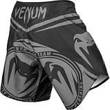 Шорты Venum Sharp Silver Arrow Fightshorts - Black/Silver, фото 4