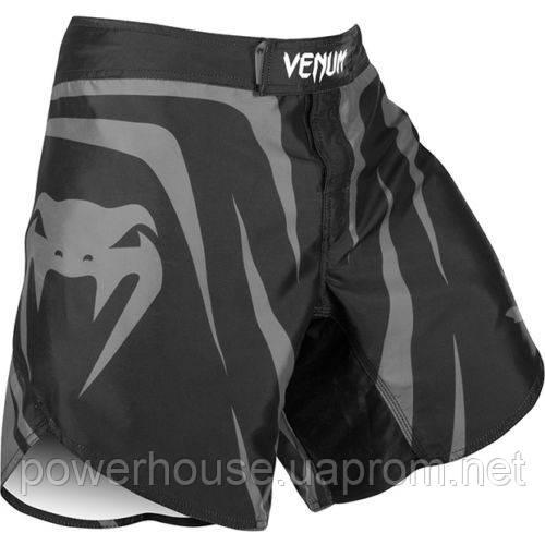 Шорты Venum Sharp Silver Arrow Fightshorts - Black/Silver