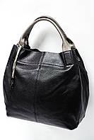 Женская сумка из натуральной матовой кожи 2017-89 black. Реплика