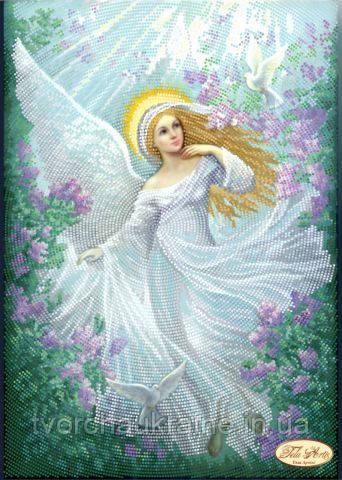 """Схема для вышивки бисером """"Нежный ангел"""""""