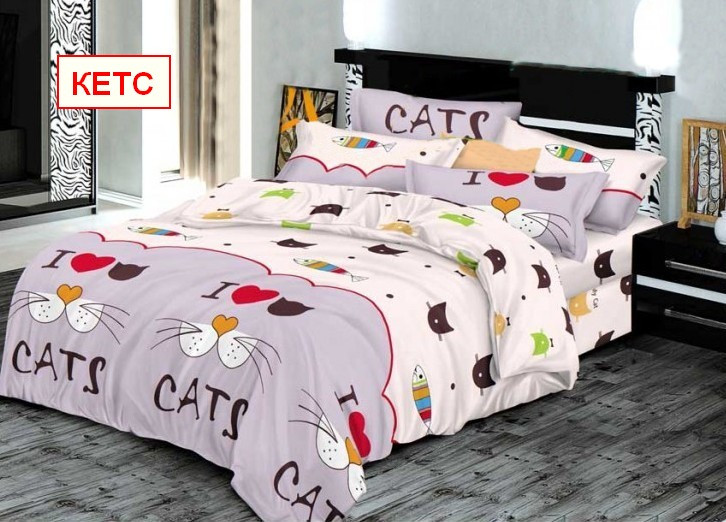 Двуспальный набор постельного белья - Кетс