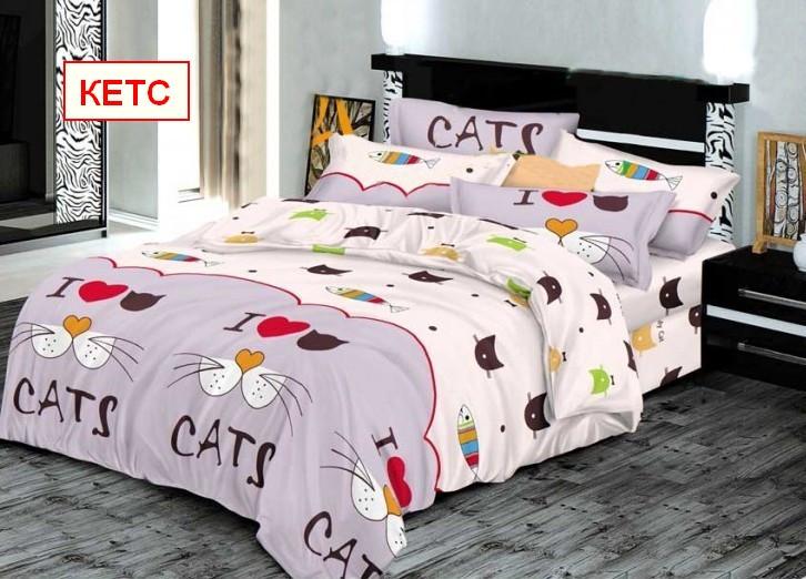 Односпальный набор постельного белья - Кетс