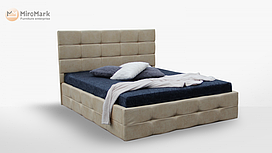 Кровать мягкая 160х200 Бристоль подъемная с каркасом Миро-Марк