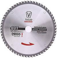 Пильный диск по дереву VATZO 200x32x60z