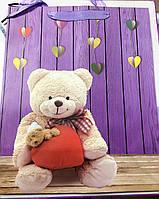 """Пакет бумажный """"Медвежата"""" №813-816 (32*26*12)"""