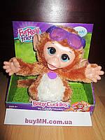 FurReal Friends Baby Cuddles My Giggly Monkey Pet Plush Интерактивная обезьянка Фурриал френдс