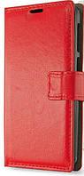 Чехол-книжка на телефон Lenovo A536 красный