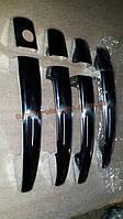 Хром накладки на ручки для Peugeot 407 2004-2011