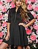 Женское расклешенное платье (Lorin sk), фото 5