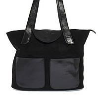 Стильная прочная женская сумка из мягкой натуральной замшевой кожи Princess art. 0263 Турция, фото 1
