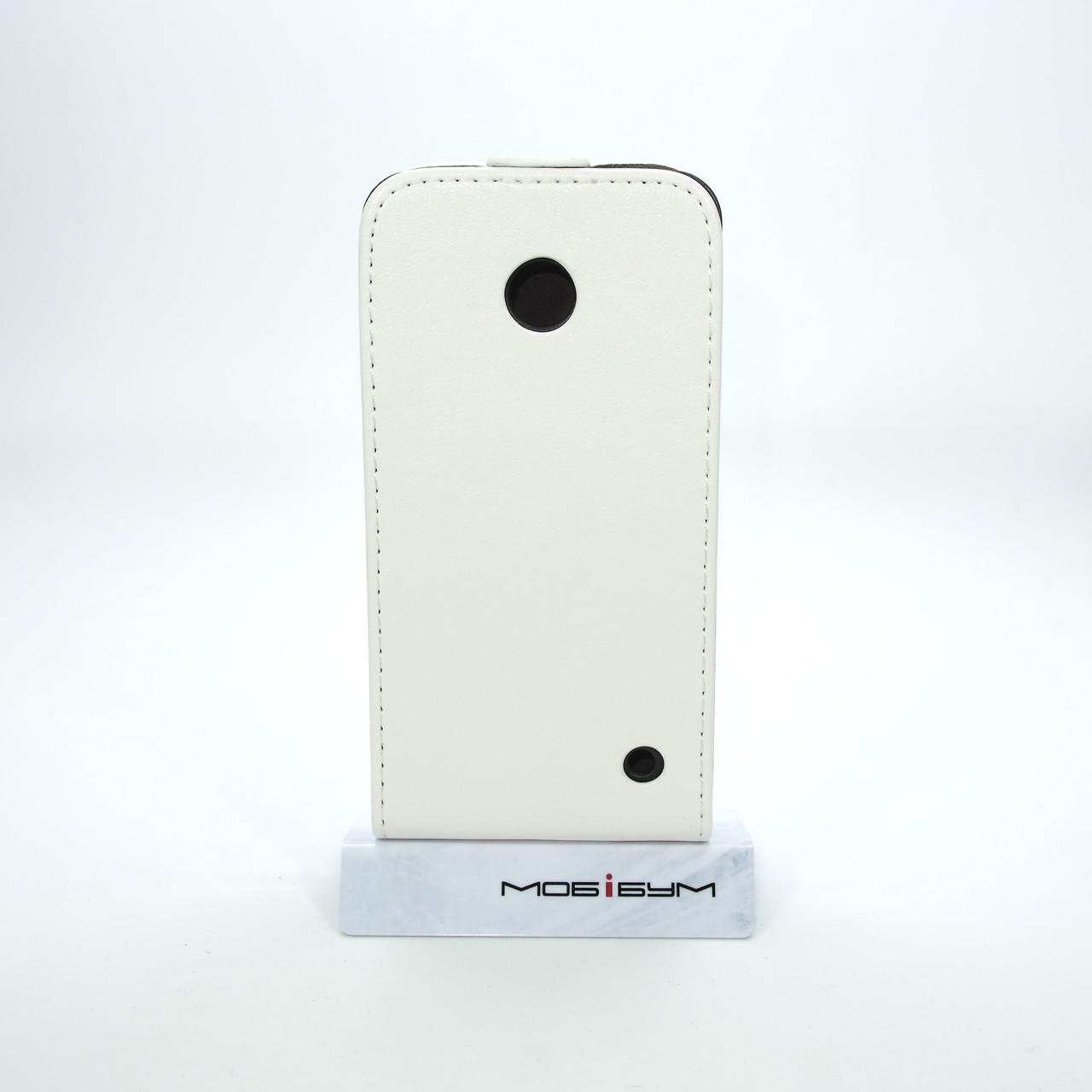 Чехол-флип Элит Nokia Lumia 630 white