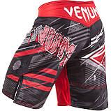 Шорты для MMA Venum All Flags Fightshorts Black-Red, фото 4