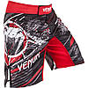 Шорты для MMA Venum All Flags Fightshorts Black-Red
