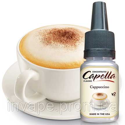Ароматизатор Capella Cappuccino v2 (Капучино) 5мл, фото 2