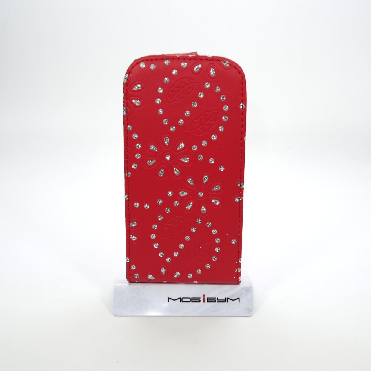 Чехол-флип Элит Стразы HTC One SV
