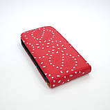 Чехол-флип Элит Стразы HTC One SV, фото 3