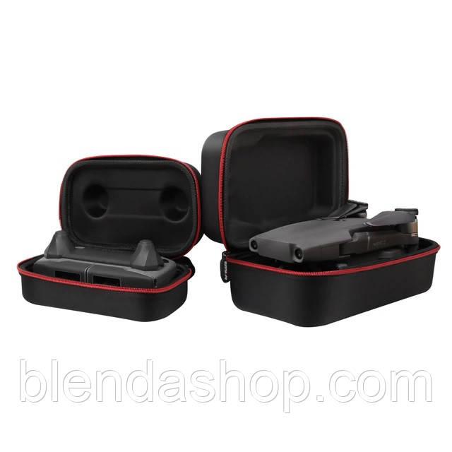 Футляр, кейс для хранения дрона и пульта ДУ DJI MAVIC PRO - комплект из 2 шт. (код XT-485)