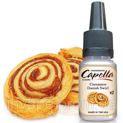 Ароматизатор Capella Cinnamon Danish Swirl v2 (Датский Коричный Рогалик) 5мл, фото 2
