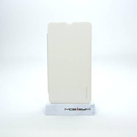 Чехол Nillkin Sparkle Microsoft Lumia 535 white EAN/UPC: 6956473221081, фото 2