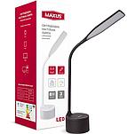 Умная лампа MAXUS DKL 8W (звук, USB, димминг, температура) черная
