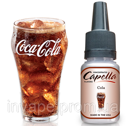 Ароматизатор Capella Cola Flavor Type Concentrate (Кола) 5мл, фото 2