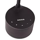 Умная лампа MAXUS DKL 8W (звук, USB, димминг, температура) черная, фото 5
