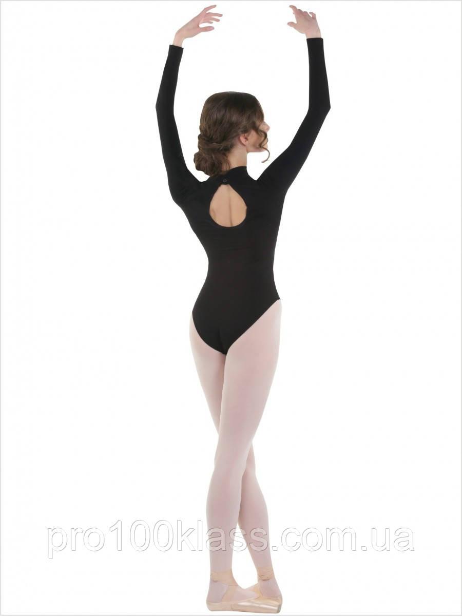 Купальник детский воротник - стойка для гимнастики и хореографии